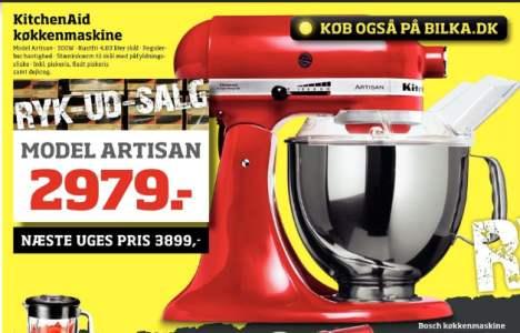 Nye Bilka tilbud på KitchenAid Artisan