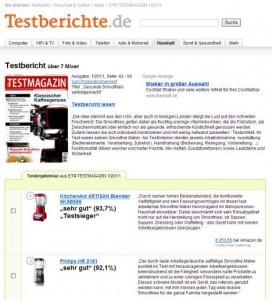 Klik for at se den tyske test af KitchenAid ARTISAN