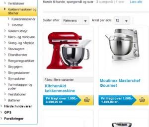 Bilka - spar 25% på køkkenmaskiner